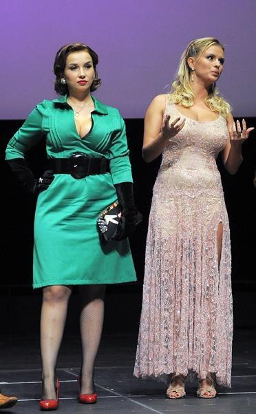 Объединили Аню и Анфису съемки в фильме «Гитлер капут!».